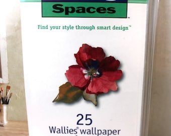 Wallies, Wallpaper Floral cut-outs craft supplies room decor