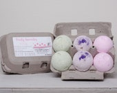 Bath Bombs, Fruity Favorites, made with essential oils by Green Bubble Gorgeous on etsy