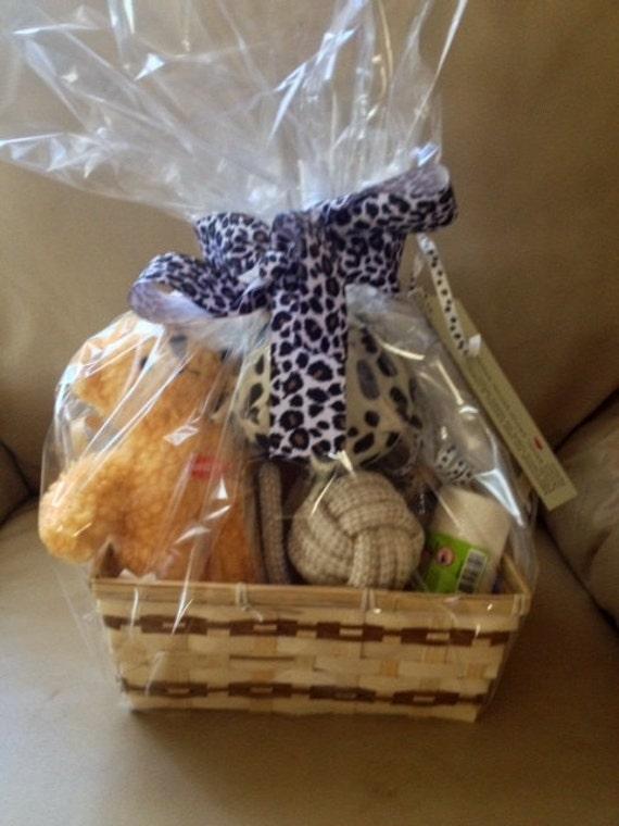 MY FAVORITE THINGS Dog Gift Basket