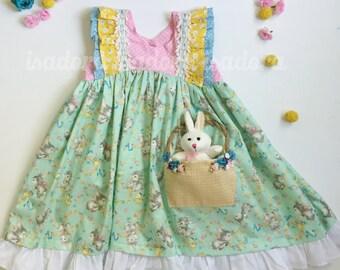 Girl's Easter Basket Easter Dress