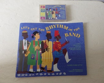 Let's Get the Rhythm of the Band.  Booklet and Rare Cassette.  1994.