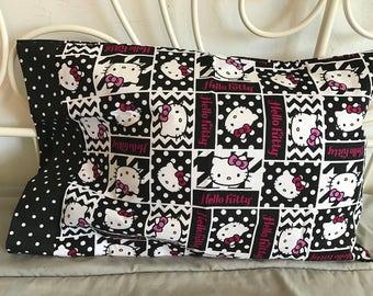 Hello Kitty travel pillow case/toddler pillow case 100% cotton