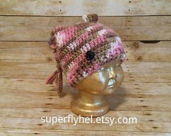 Fish Hat, Dead Fish Hat, Pink Fish Slouchy Hat, Toddler Fishing Hat, Animal Hat, Sea Animal, Head Gear, Novelty Fish Hat