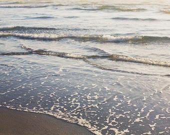 Pacific Tides - Fine Art Photograph, Ocean, Beach, Sea, City, Oregon, Travel Photography, Wall Art, Room Decor, Cannon Beach
