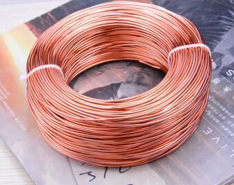 1.5mm wire, aluminium wire, aluminium thread, artistic aluminium wire, craft wire, aluminium cord wire, Aluminium line Copper 10 meters