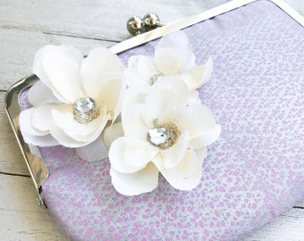 Custom Bridal & Bridesmaid Clutches