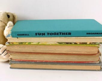 1958 Fun Together. Sylvia Cassell and Bill Granstaff. Vintage Kid's Games and Activities. Arts and Crafts for Children. Preschool Learning.