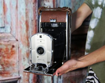 Vintage Polaroid Land Camera folding model 95A