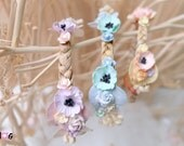 Blythe Pastel Bohemian Flowers headband