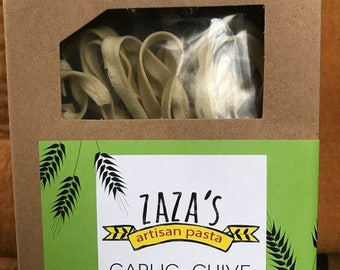 Garlic-Chive Fettuccine
