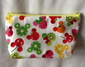 Mickey fruit fabric bag - Lemon edition