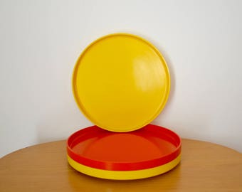 Heller Plates by Massimo Vignelli
