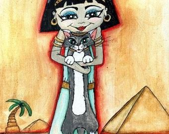 Egyptian Princess Giclee Art Print