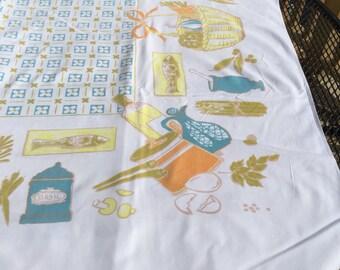 """63"""" x 54"""" California Handprints Tablecloth"""