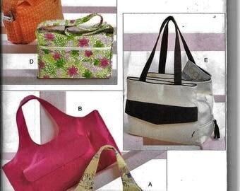 Vogue Accessories V8098 Purse Handbag Tote Beach Bag Sewing Pattern UNCUT 8098