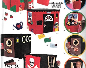 Simplicity 1676 CARD TABLE TENT Fort Playhouse Sewing Pattern