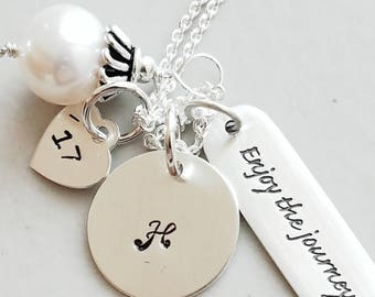 College Graduation Gift for Her - Grad Gift For Friend - Graduation Necklace for Friend - College Graduation - Niece Graduation Gift