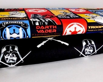 Star Wars Fabric, Glow in the Dark, Bundle of 2 fabrics, CHOOSE YOUR CUT 100% cotton fabric for Quilting and general sewing projects.
