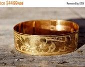 Spring SALE Victorian Gold Adjustable Belt Bracelet