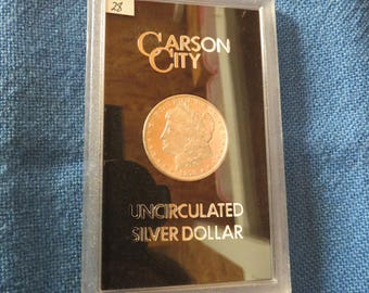 1878 Carson City  MS64  PL  ( Closed cc )  Morgan Silver Dollar