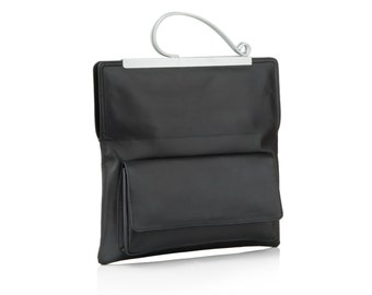 Leather Clutch Bag | Gifts for Women | Evening Bag | Black Leather Bag | Black Leather Clutch | Clutch Purse | Evening Clutch