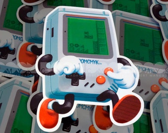 "Game-Buddy 3""x4"" Sticker FREE Shipping"