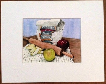 Let's Roll - Print of original watercolor painting