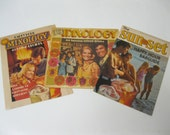 Happy Hour Mixology Vintage Southern Comfort Drink Mixer Guides Collectible Set of 3 Booklets Includes Bar Guides Drink Recipes Party Ideas