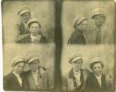 "Vintage Photo ""Street Brothers of Boston"" Snapshot Antique Photo Old Black & White Photograph Found Paper Ephemera Vernacular - 142"