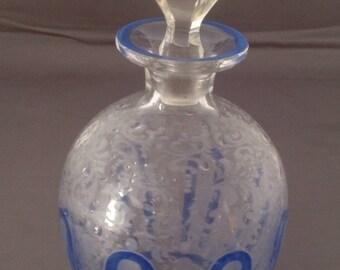 Ornate Cut Glass Perfume FREE SHIPPING