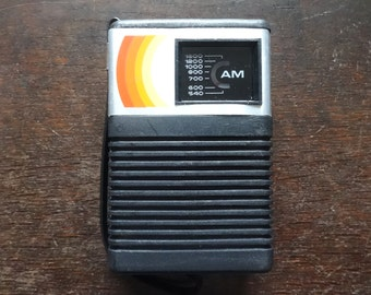 Vintage International AM Handheld Radio Boxed circa 1970's / English Shop