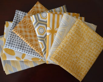 Fat Quarter Bundle of 8 from the Minimalista Collection by Art Gallery Fabrics In-House Studio
