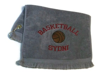 Basketball sports towel