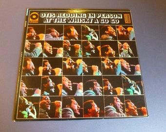 Otis Redding In Person At The whiskey A GO GO Vinyl Record LP SD33-265 Atco Records 1968