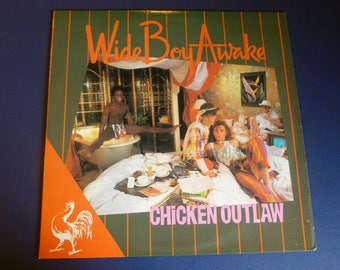 Chicken Outlaw Wide Boy Awake Vinyl Record LP PD- 13503 RCA Records  1982