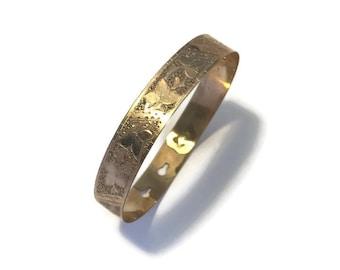 Antique Victorian Gold Filled Bracelet