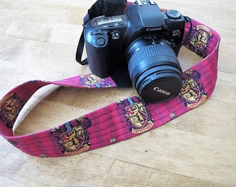 Harry Potter Griffindor Camera Strap
