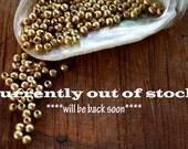 2 mm, brass beads, brass spacer, ethnic beads, mala beads, round ball, makrame, macrame, african trade beads, macrame jewelry, diy macrame