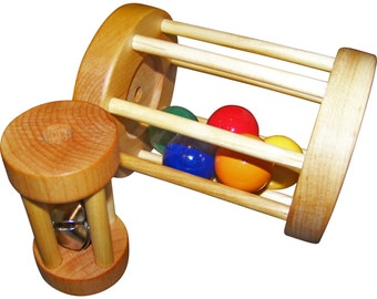 Ball & Bell Cylinder - Montessori Toys