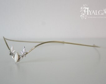 elvish tiara - fairies and swarovski