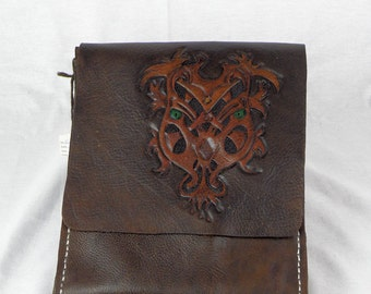 Crest Creature Messenger Bag