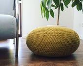 Crochet Pouf PDF Pattern - Instant Download