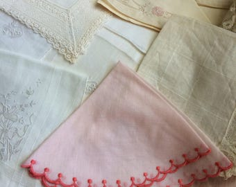 Another Collection Of Vintage And Antique Hankies