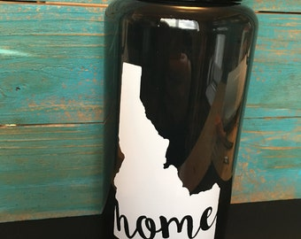 Home State Water Bottle, State Water Bottle, Home Grown Water Bottle, State Pride Water Bottle, Home State Love, Home State Water Bottle