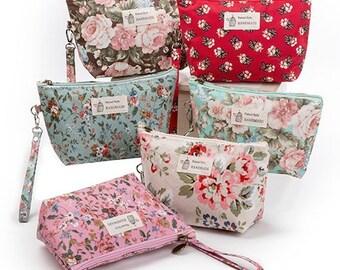 Cosmetic Bag - Bridesmaid Make Up - Makeup bag - Bridesmaid Gifts