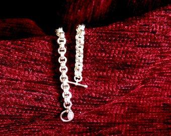 Sterling Silver 2x2 Chainmaille Bracelet