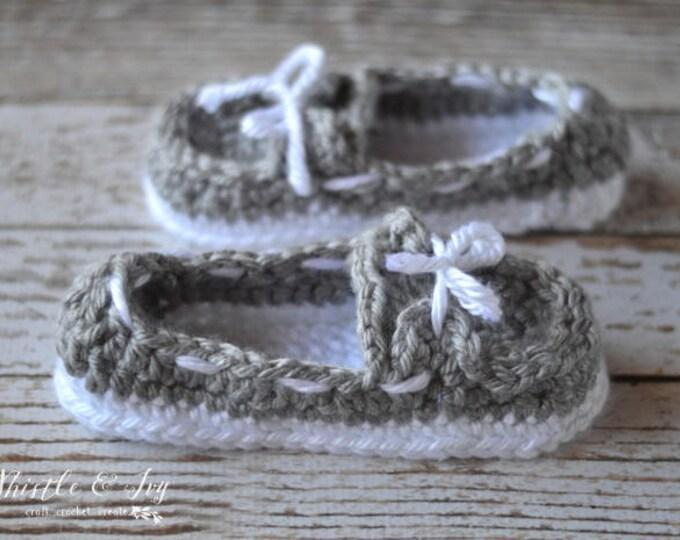 Women's Chunky Boat Slippers Crochet Pattern PDF DOWNLOAD