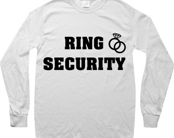 Ring Security SVG EPS PNG jpg File Digital Download Ring Bearer Shirt Decal