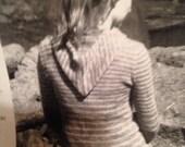 Custom Listing for HARA Hand Knit Sweater, Women's sweater, Hand Knit Sweater, Anchor sweater