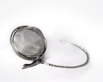 2 Inch Mesh Tea Strainer Ball - Rust resistant - reusable & eco-friendly